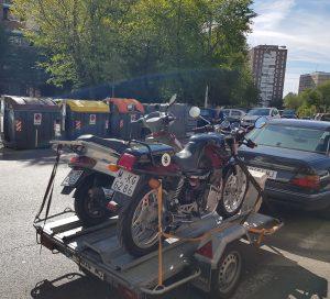 motos de escena